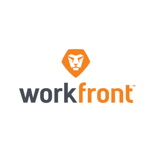 Logo for Workfront