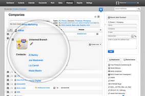 Screenshot #4 of WORK[etc] CRM (Unlimited Contacts & Relationships)