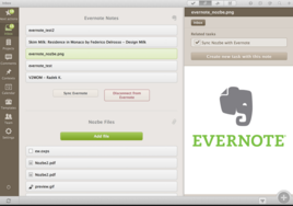Screenshot #1 of Evernote ()