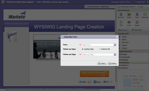 Screenshot #2 of Marketo (Landing Page Creation)