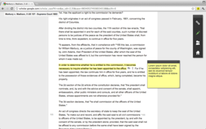 Screenshot #3 of Annotary (Highlight and take notes right on the page.)